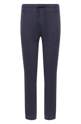 Мужские хлопковые брюки JAMES PERSE темно-синего цвета, арт. MXA1161 | Фото 1