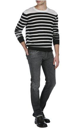 Вязаный пуловер   Фото №4