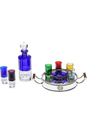 Набор из штофа, подноса, икорницы и 6-ти рюмок для водки Ice Shots Tsar #color# | Фото №1