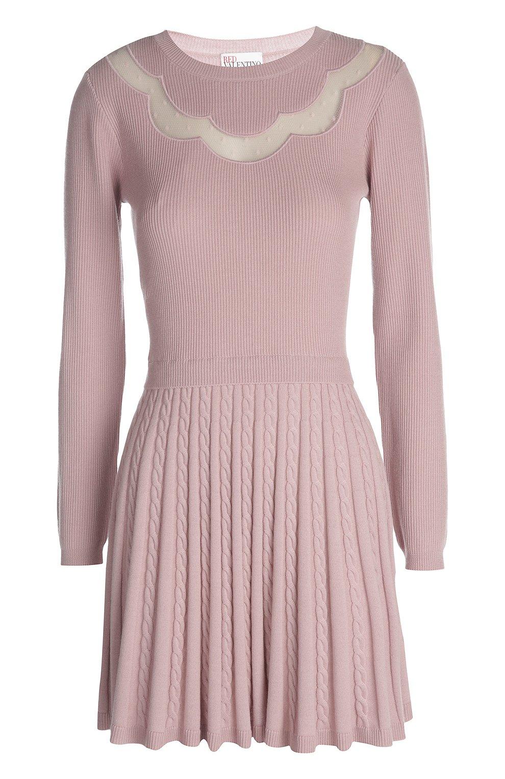 Вязаное платье   Фото №1