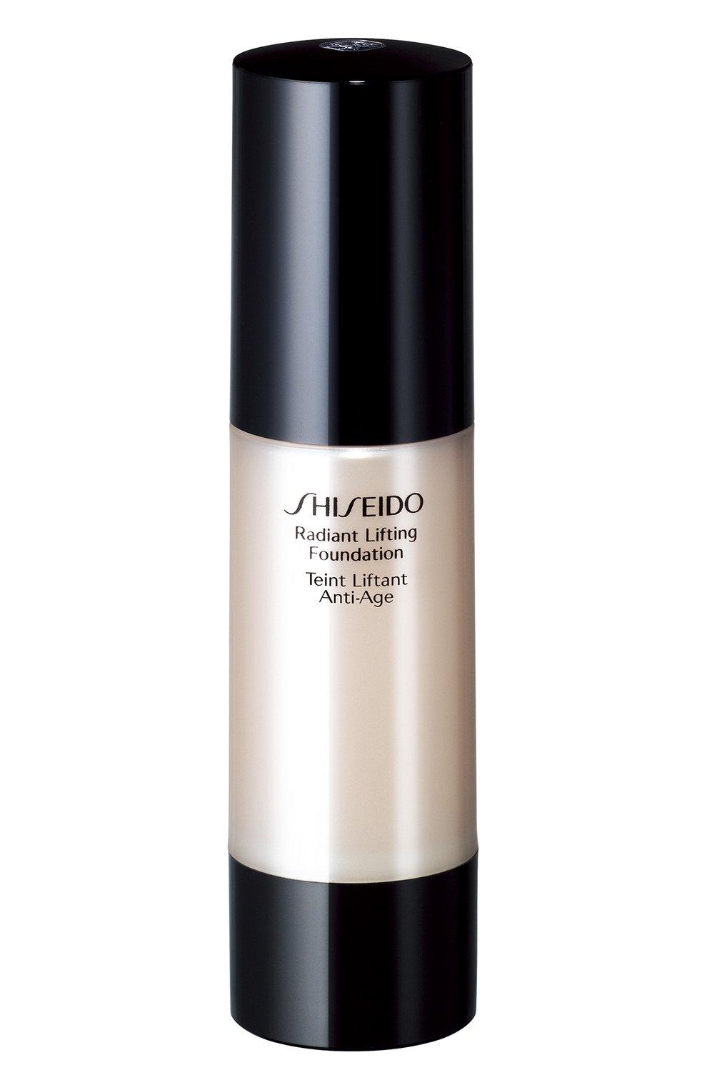Женское тональное средство с лифтинг-эффектом, придающее коже сияние i00  SHISEIDO бесцветного цвета, арт. 10853SH | Фото 1