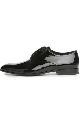 Мужской туфли GIORGIO ARMANI черного цвета, арт. X2C055/XC882 | Фото 1