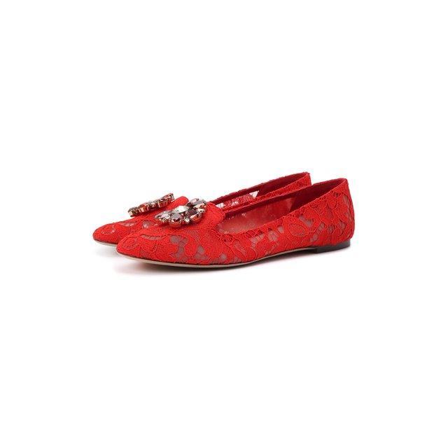Текстильные слиперы Rainbow Lace Dolce & Gabbana — Текстильные слиперы Rainbow Lace