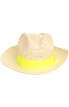 Женская шляпа пляжная ARTESANO желтого цвета, арт. CL234   Фото 2