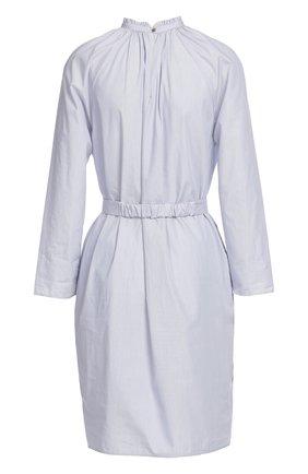 Платье с поясом Atlantique Ascoli синее | Фото №1