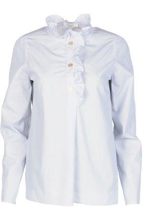 Женская блуза Atlantique Ascoli, цвет синий, арт. 2-0BV7-5 / R P0PELINE в ЦУМ | Фото №1