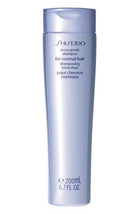 Женский мягкий шампунь для нормальных волос extra gentle hair care SHISEIDO бесцветного цвета, арт. 70130SH | Фото 1