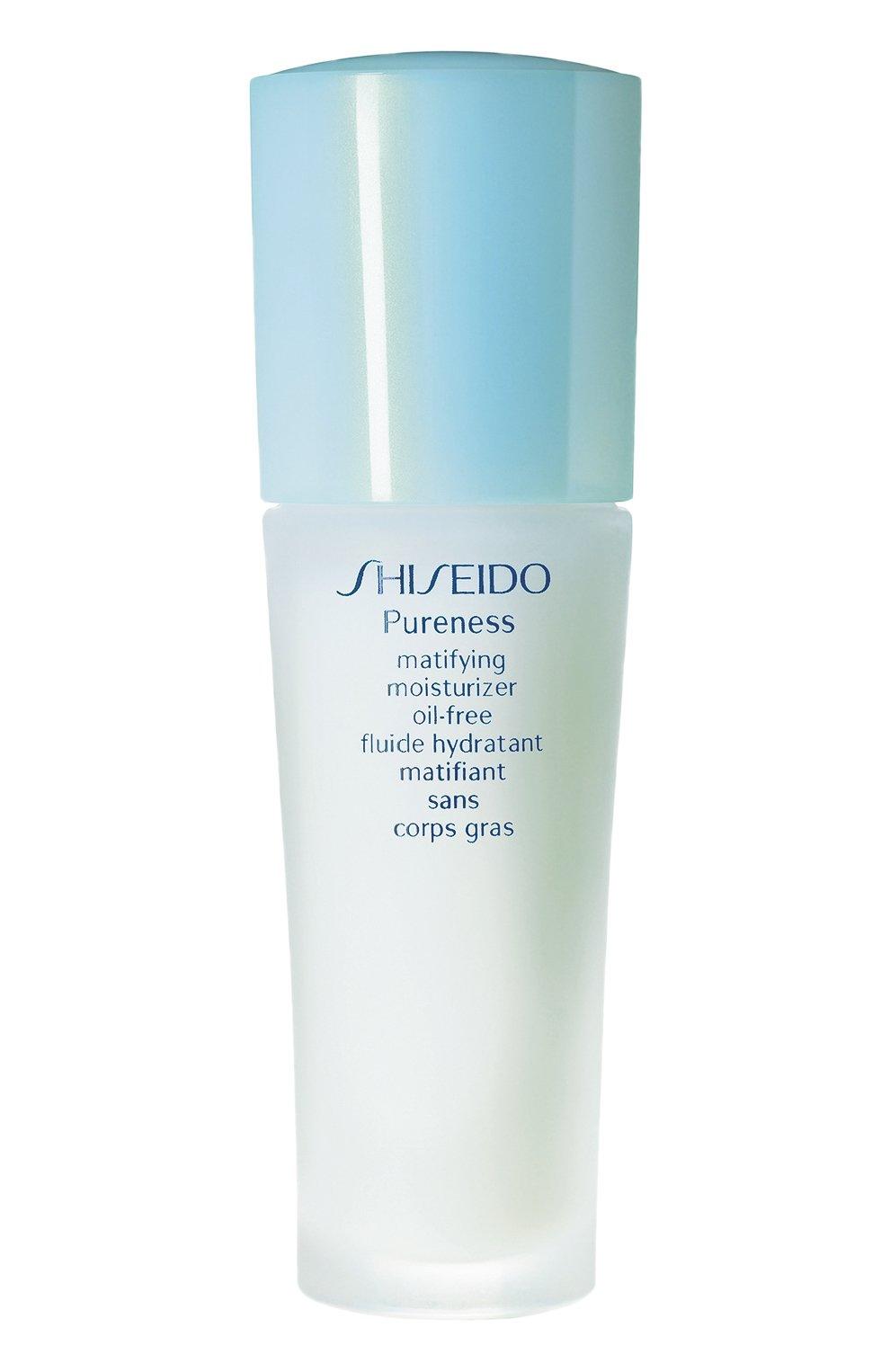 Женское увлажняющее средство с матирующим эффектом pureness SHISEIDO бесцветного цвета, арт. 16708SH   Фото 1