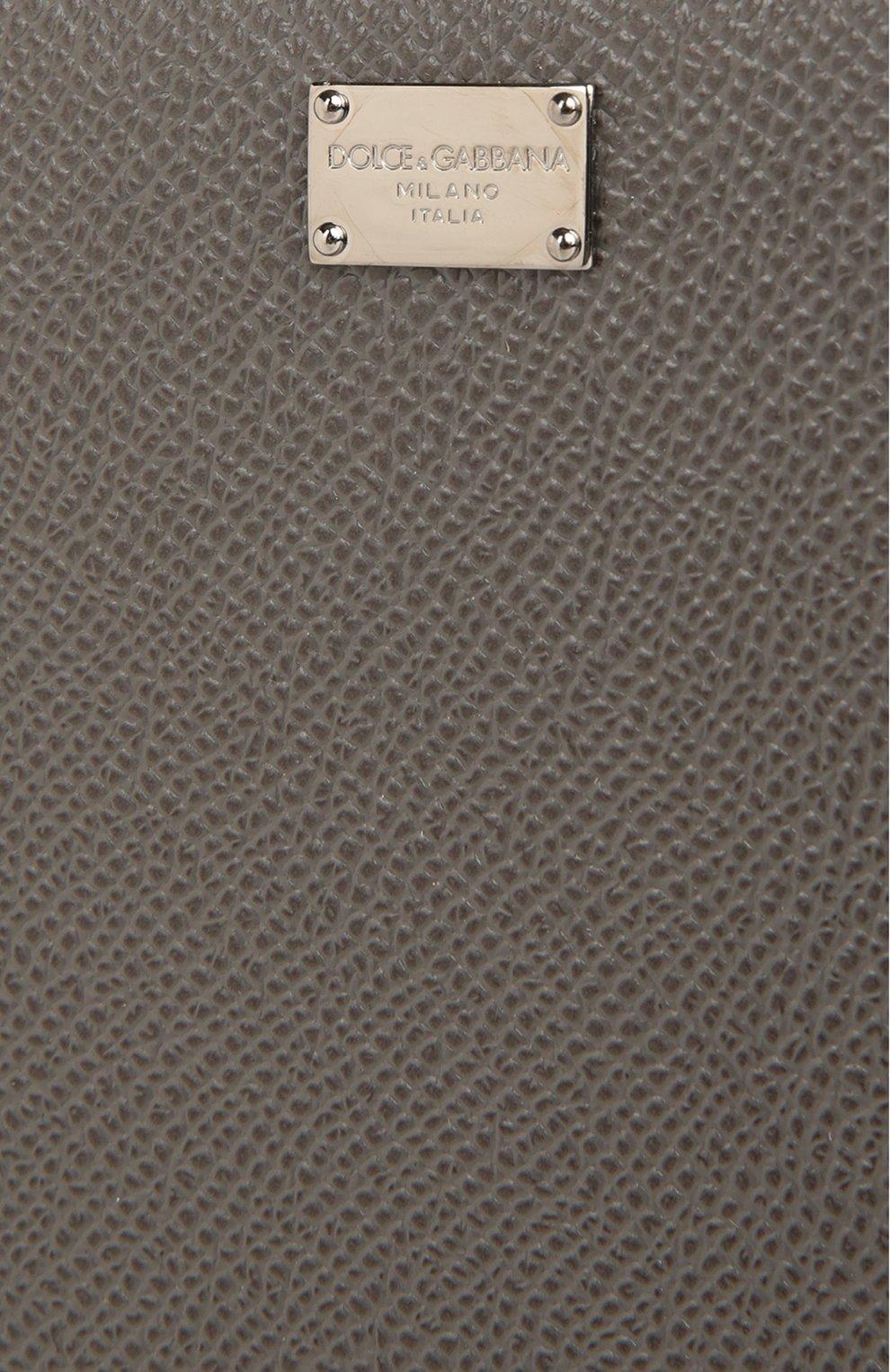 Кожаный футляр для документов на молнии | Фото №5