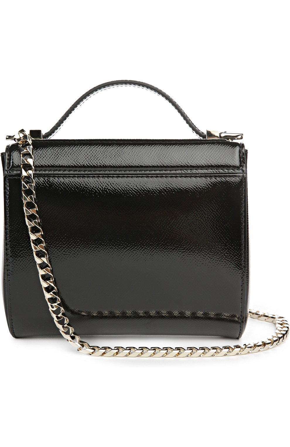 20c84584f4c5 Женская сумка pandora box mini на цепочке GIVENCHY черная цвета ...