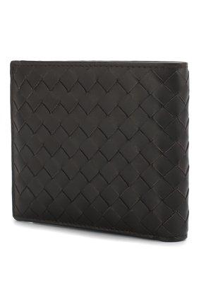 Кожаное портмоне с плетением intrecciato | Фото №2