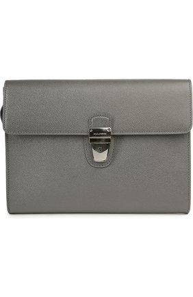 Портфель Dolce & Gabbana серый   Фото №1