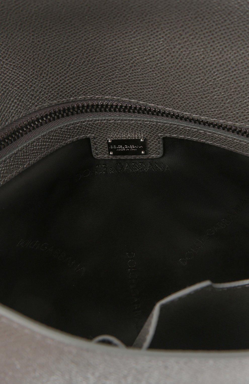 Портфель Dolce & Gabbana серый   Фото №5