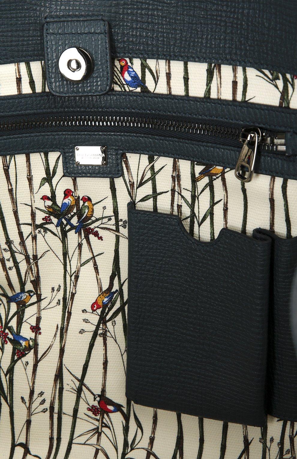 Сумка Dolce & Gabbana темно-синяя | Фото №5
