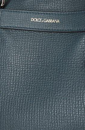 Сумка Dolce & Gabbana темно-синяя | Фото №6