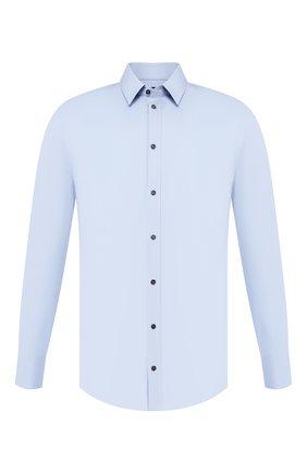 Мужская хлопковая сорочка DOLCE & GABBANA голубого цвета, арт. 0101/G5DE1T/FUEAJ | Фото 1