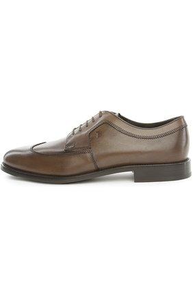 Туфли Tod's коричневые | Фото №1