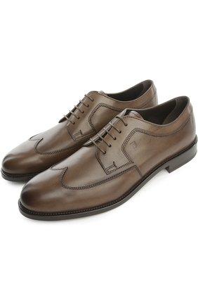 Туфли Tod's коричневые | Фото №2