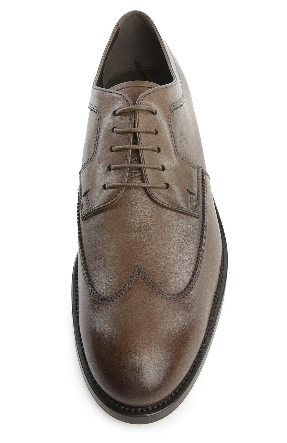 Туфли Tod's коричневые | Фото №4