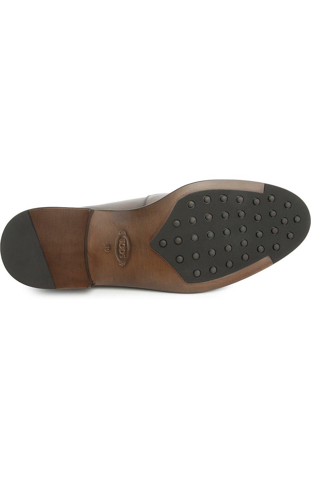 Туфли Tod's коричневые | Фото №5