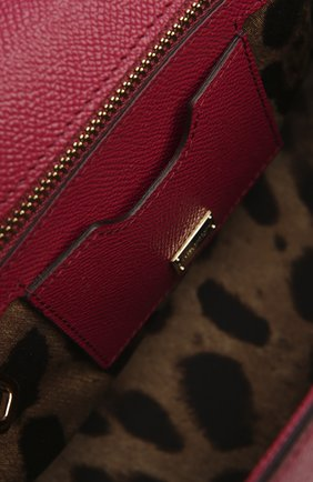 Женская сумка sicily medium DOLCE & GABBANA бордового цвета, арт. 0116/BB6002/A1001 | Фото 5