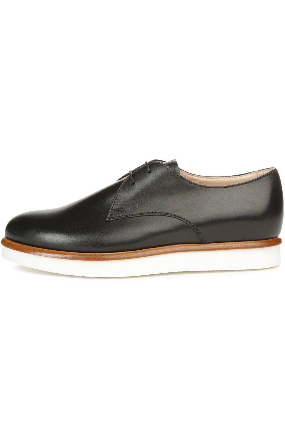 Кожаные ботинки Gomma на шнуровке | Фото №1