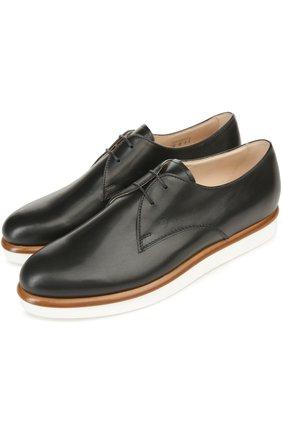 Кожаные ботинки Gomma на шнуровке | Фото №2