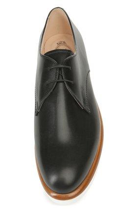 Кожаные ботинки Gomma на шнуровке | Фото №4