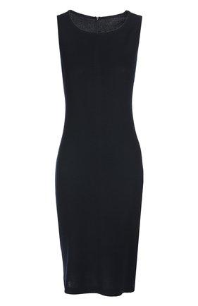 Женское платье ST. JOHN темно-синего цвета, арт. K18B010 | Фото 1