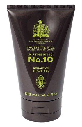 Мужская гель для бритья для чувствительной кожи authentic no. 10 TRUEFITT&HILL бесцветного цвета, арт. 1002 | Фото 1