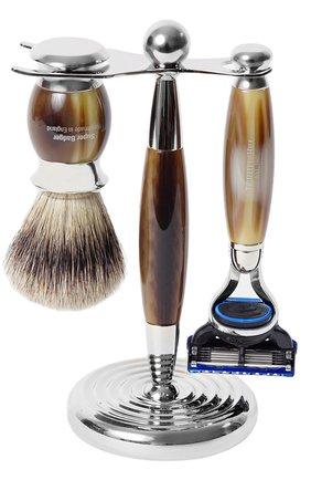 Мужская кисть для бритья и станок с лезвием fusion TRUEFITT&HILL бесцветного цвета, арт. 352 | Фото 1