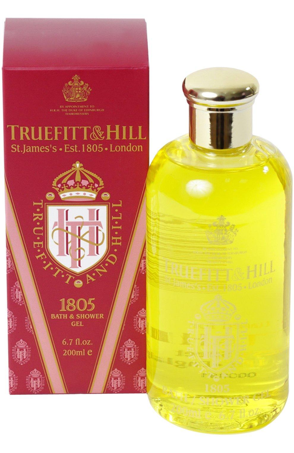 Мужского гель для ванны и душа 1805 TRUEFITT&HILL бесцветного цвета, арт. 38 | Фото 1 (Статус проверки: Проверена категория)