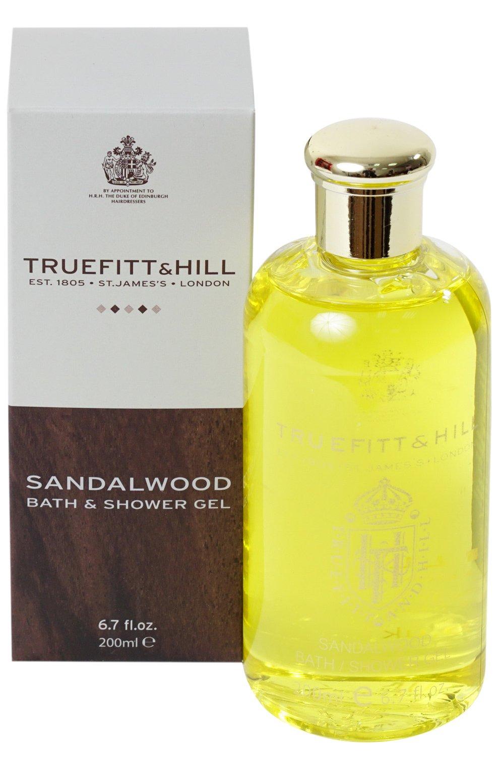 Мужского гель для душа sandalwood TRUEFITT&HILL бесцветного цвета, арт. 556   Фото 1 (Статус проверки: Проверена категория)