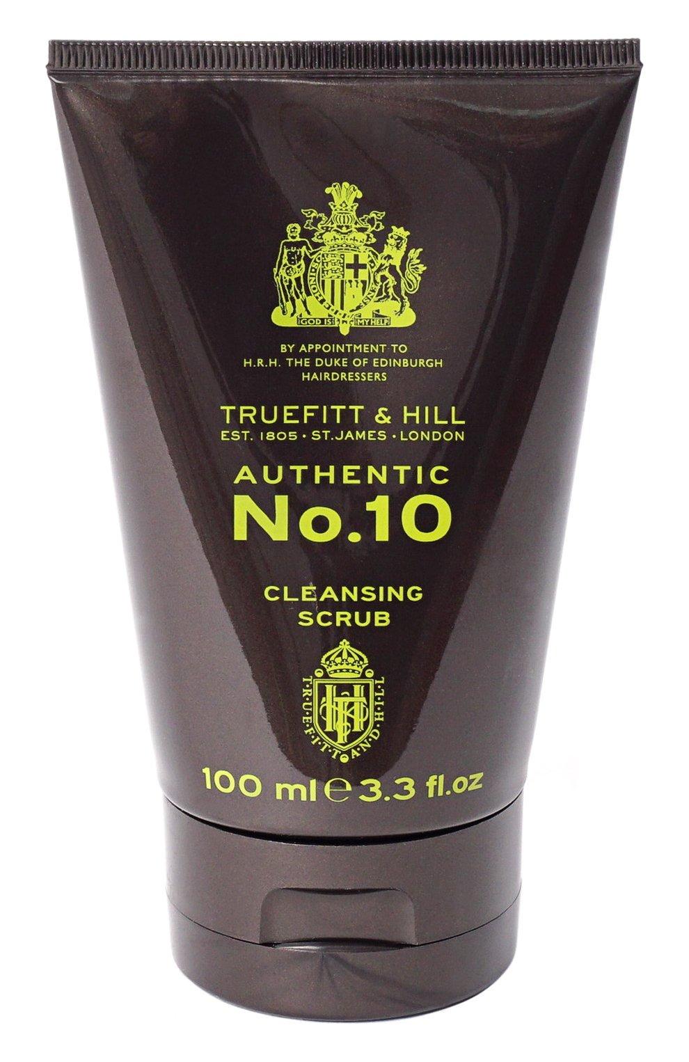 Мужское скраб для очищения кожи лица authentic no. 10 (100ml) TRUEFITT&HILL бесцветного цвета, арт. 1005 | Фото 1 (Статус проверки: Проверена категория)