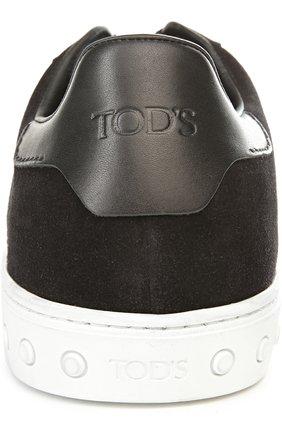 Кеды Tod's черные | Фото №3
