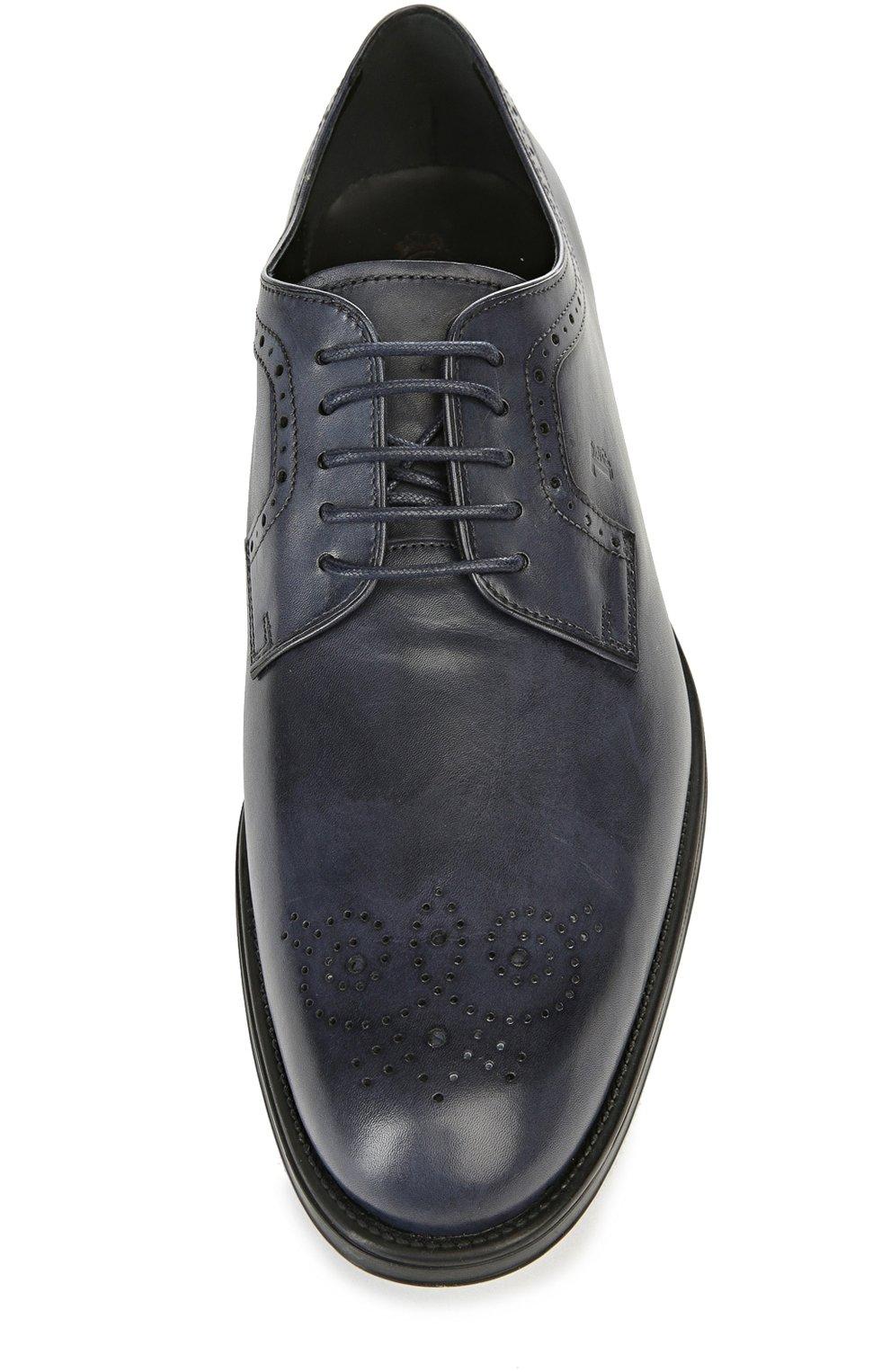 Туфли Tod's темно-синие | Фото №4