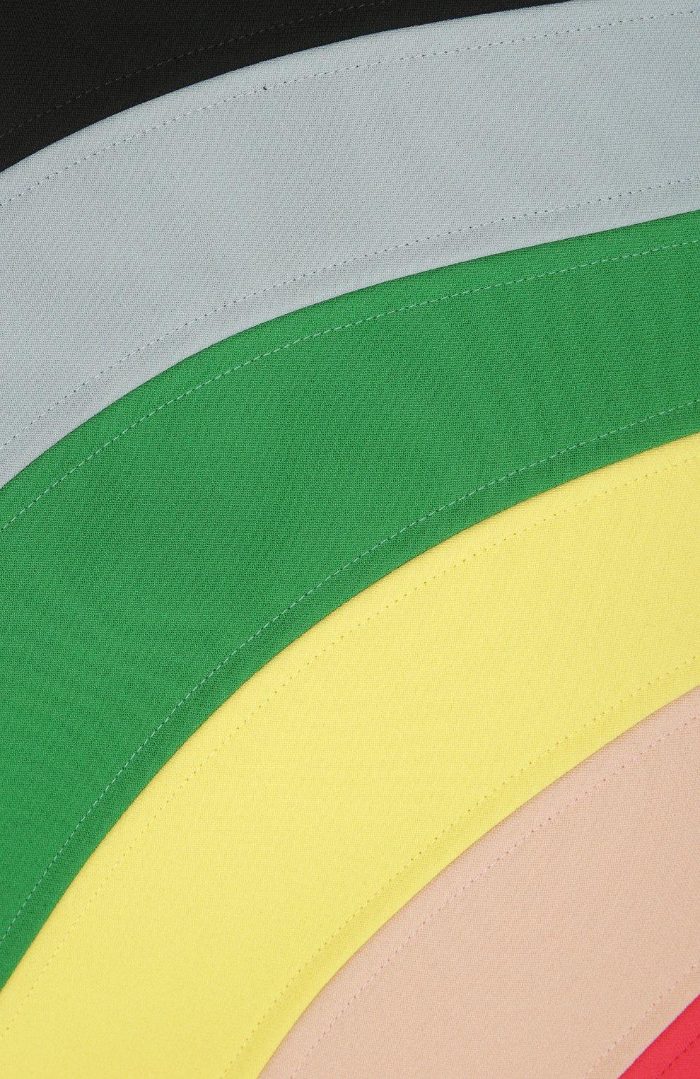 Платье REDVALENTINO разноцветное   Фото №3