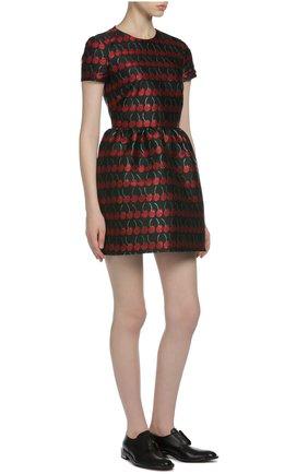 Платье REDVALENTINO разноцветное   Фото №4