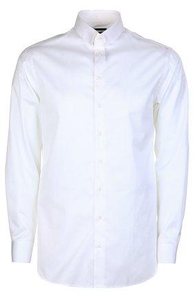 Мужская сорочка GIORGIO ARMANI кремвого цвета, арт. TSCMHT/TS10C | Фото 1