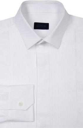 Сорочка Lanvin Contemporary белая | Фото №1