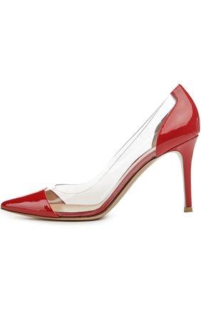 Лаковые туфли Plexi на шпильке | Фото №1
