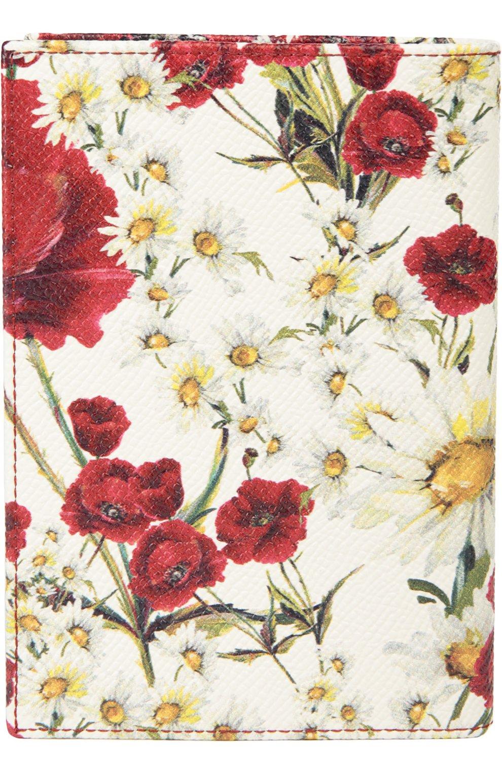 Обложка Dolce & Gabbana красного цвета | Фото №2
