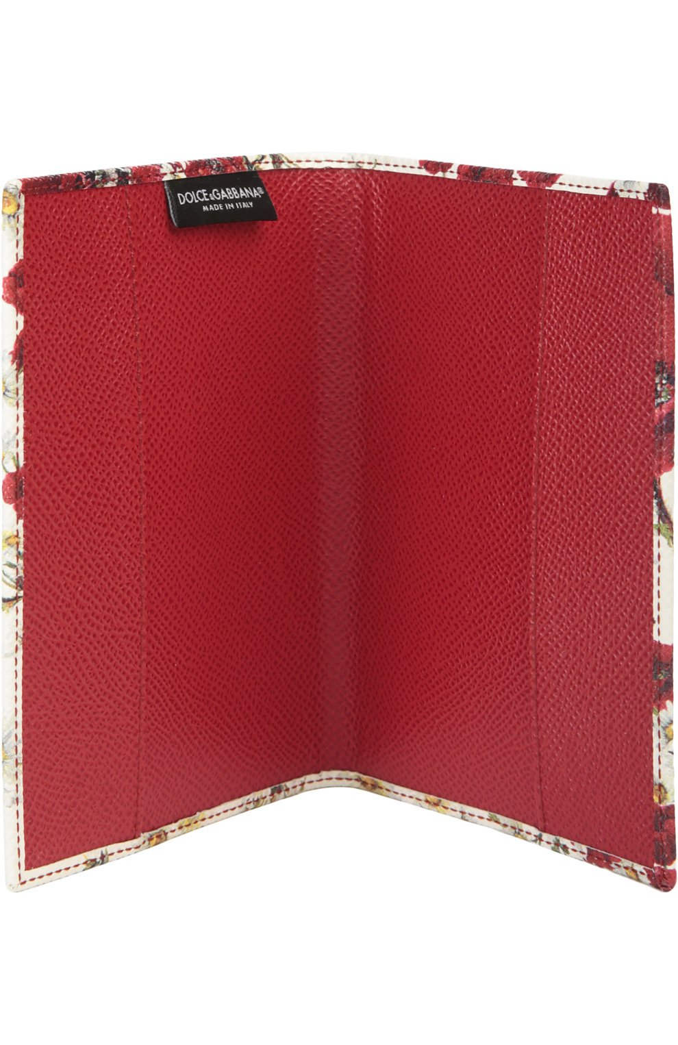 Обложка Dolce & Gabbana красного цвета | Фото №4