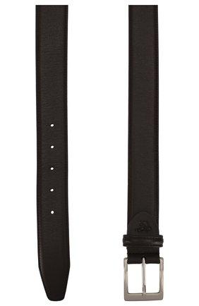 Мужской кожаный ремень CANALI темно-коричневого цвета, арт. KA00025/50 | Фото 2