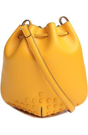 Сумка Tod's желтая цвета   Фото №2