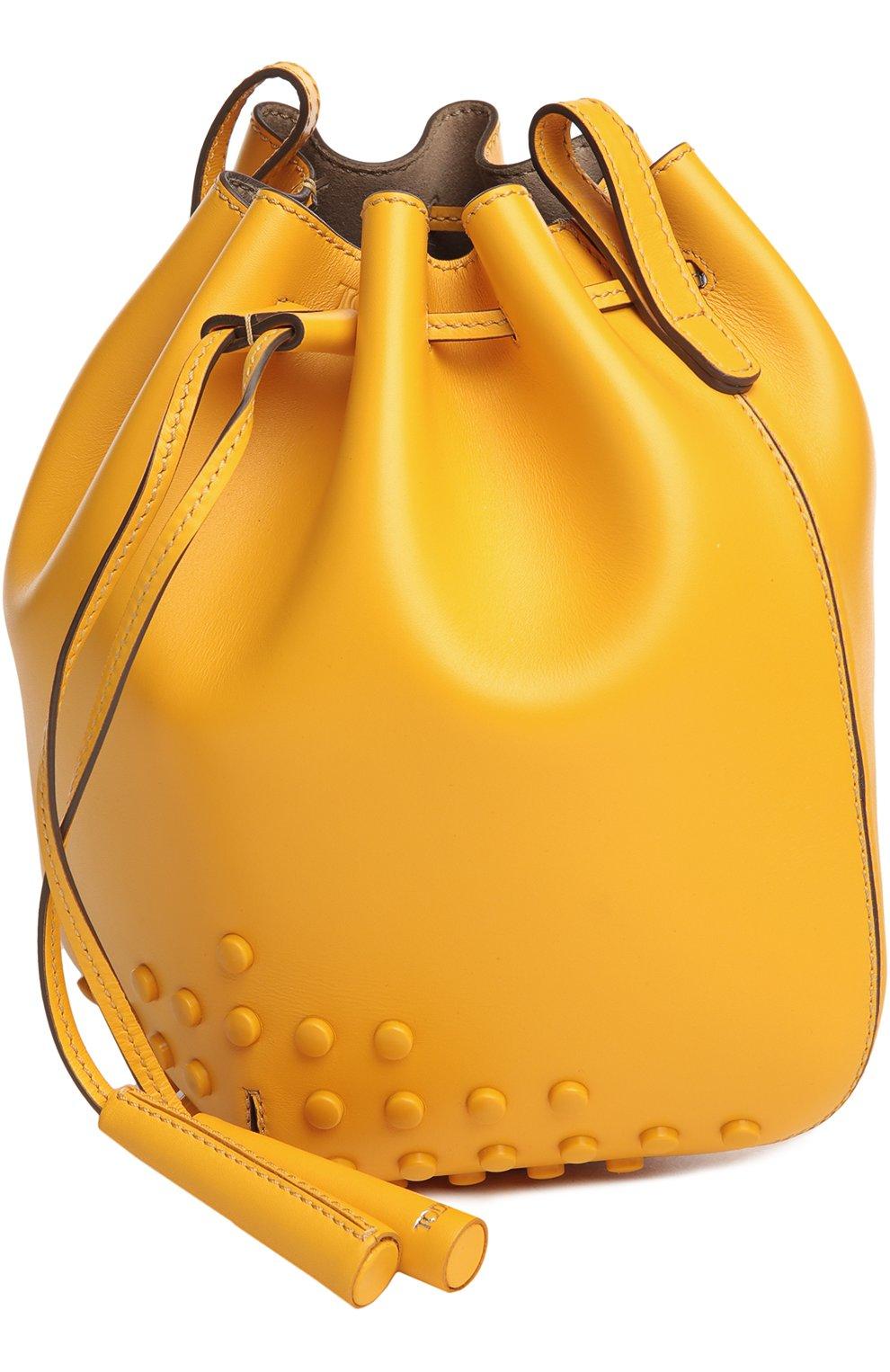 Сумка Tod's желтая цвета   Фото №3