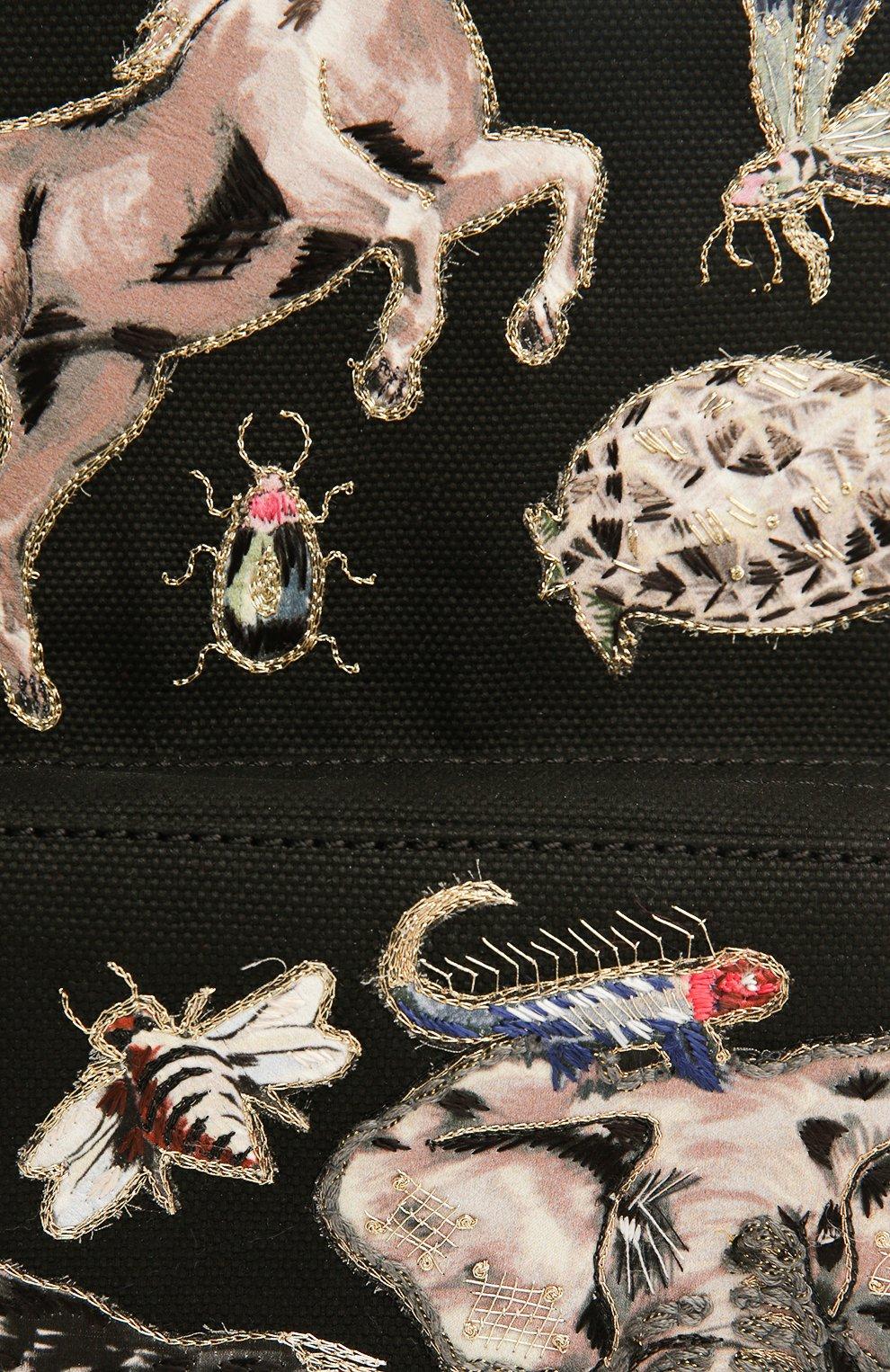 Рюкзак с нашивками и отделкой из кожи | Фото №6