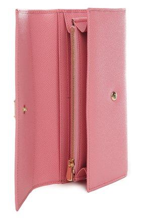 Кожаный кошелек с тиснением Dauphine | Фото №4