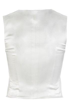 Жилет Dolce & Gabbana белый | Фото №2