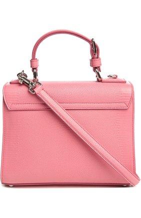 Сумка Monica с зеркалом Dolce & Gabbana светло-розовая цвета | Фото №2